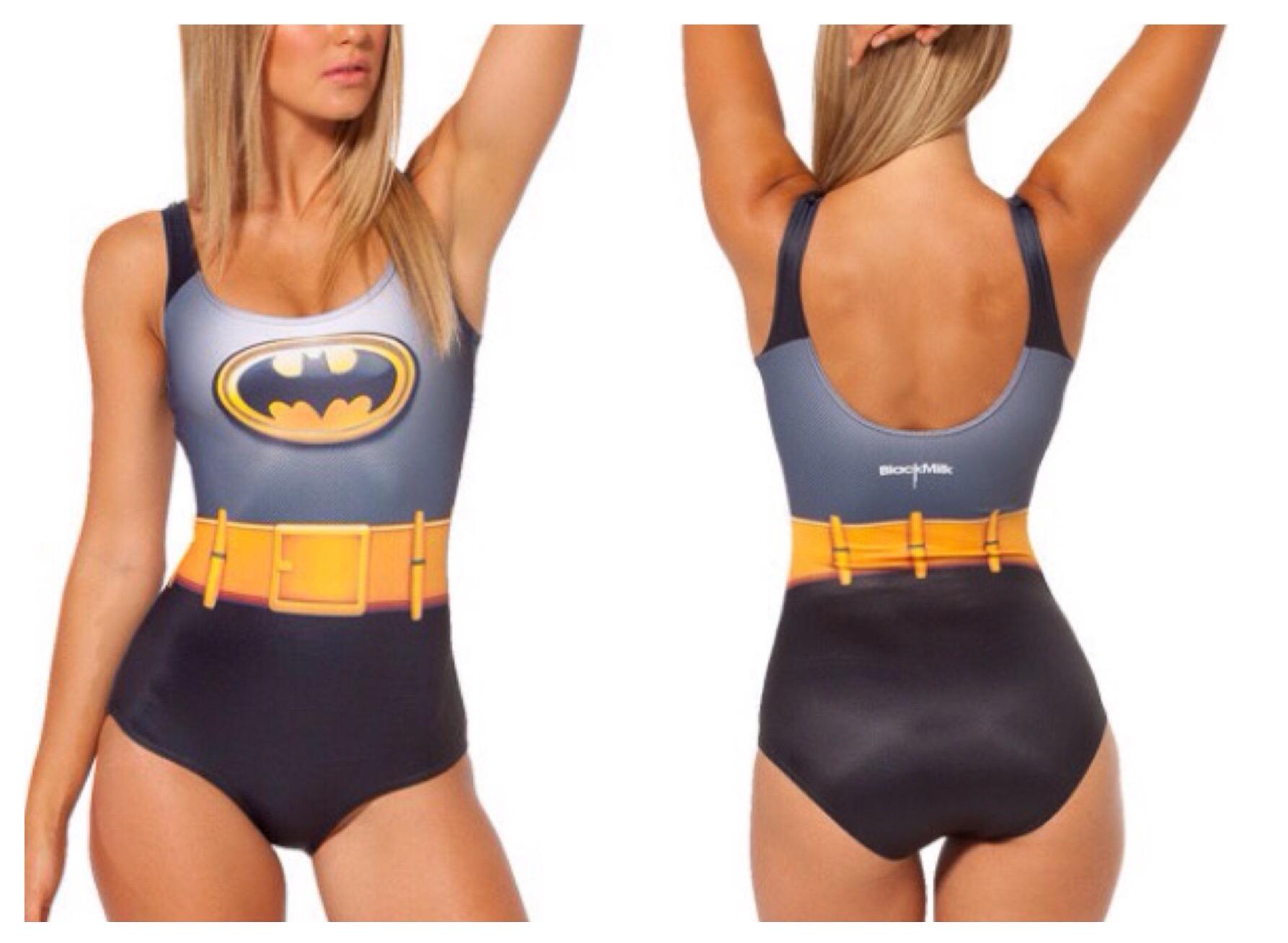 Geeky Swimsuit | Batman {DC Comics}