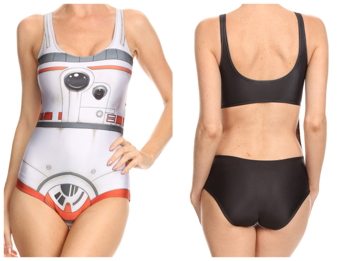 Geeky Swimsuits | BB8 {Star Wars}