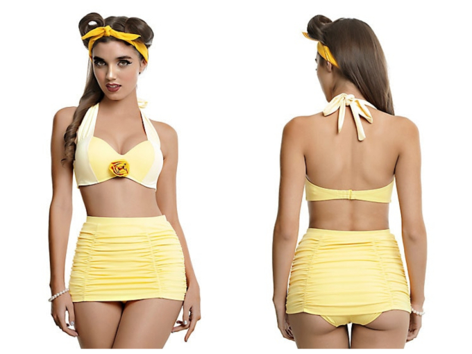 Geeky Swimsuits | Beauty and the Beast {Disney}