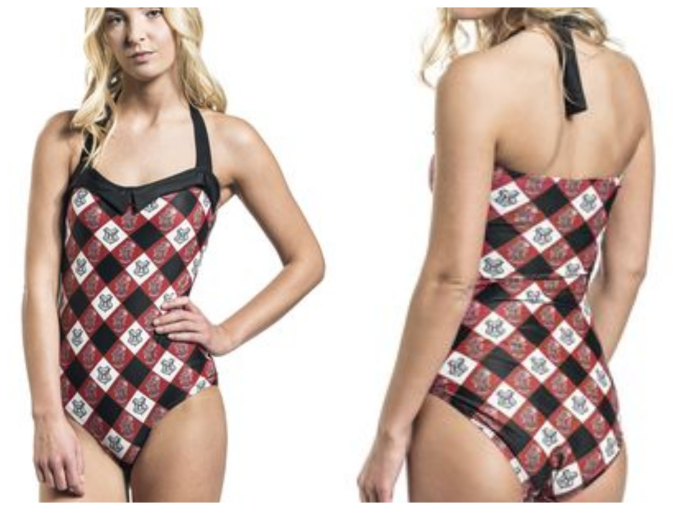 Geeky Swimsuits | Gryffindor {Harry Potter}