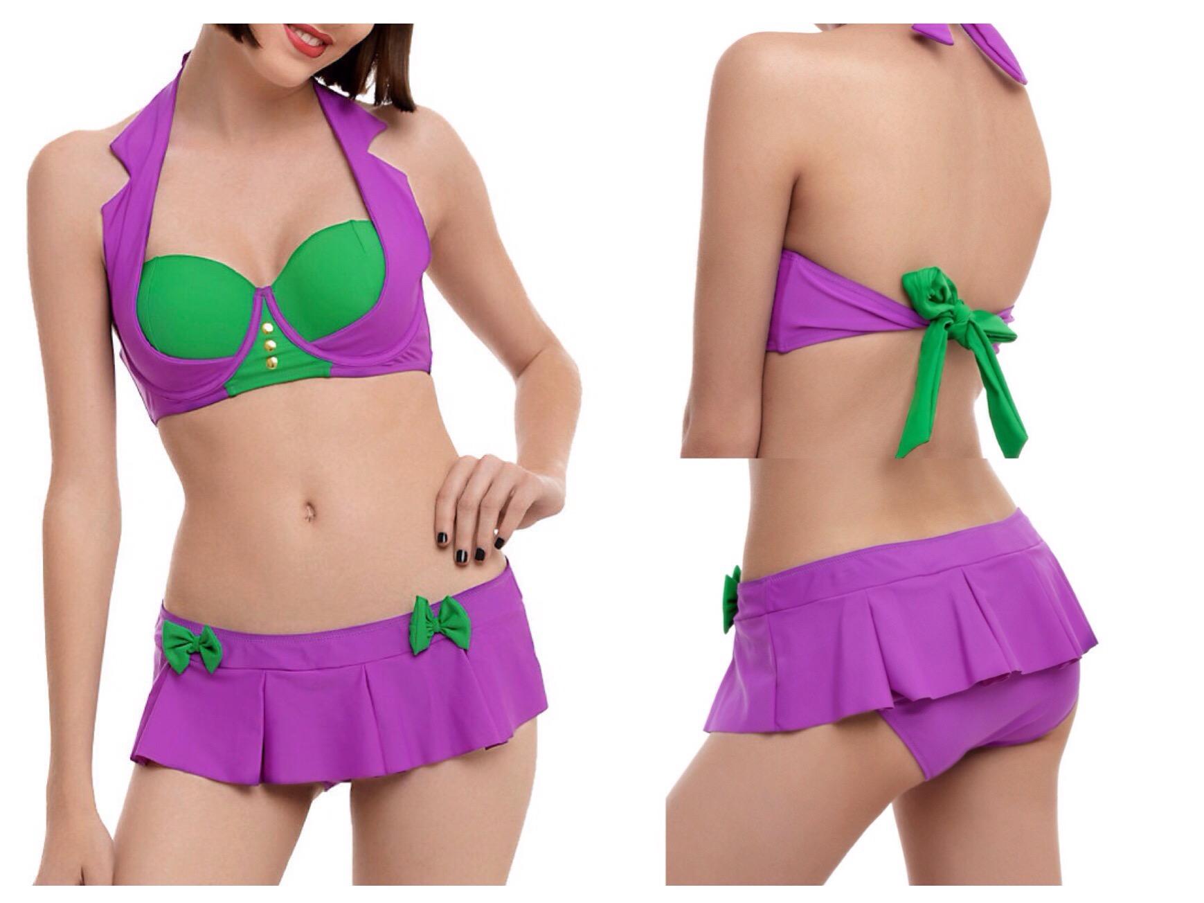 Geeky Swimsuits | Joker {DC Comics}