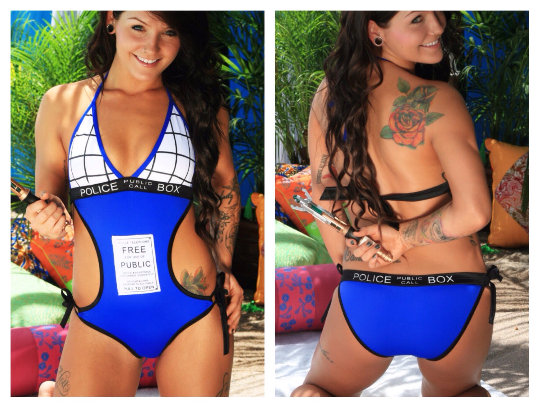 Geeky Swimsuits | Tardis {Doctor Who}