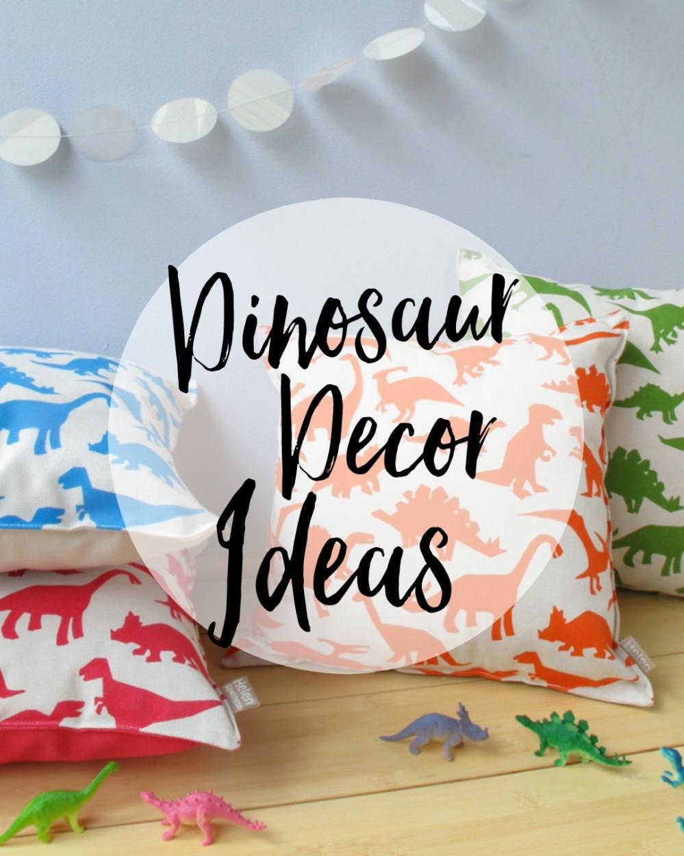 15 Delightful Décor Ideas for Dinosaur Day