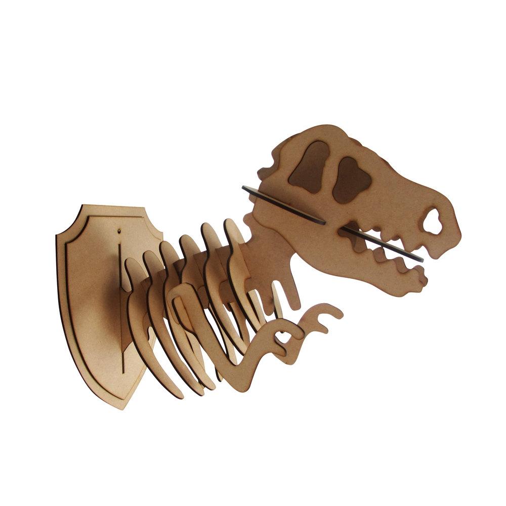 Dinosaur Décor Ideas | T-Rex Trophy Head