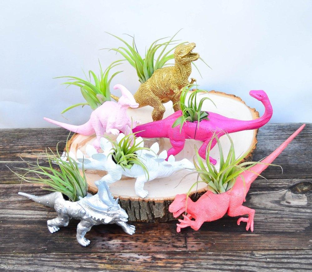 Dinosaur Décor Ideas | Planters