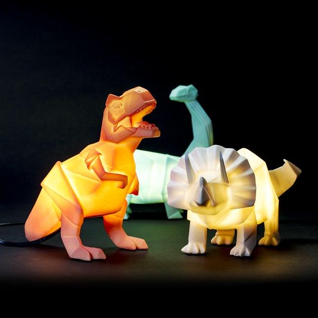 Dinosaur Décor Ideas | Dino Lamps