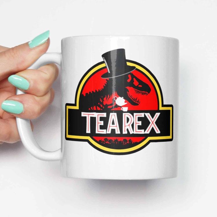 Dinosaur Décor Ideas | Tea Rex Mug