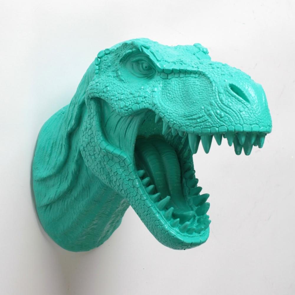 Dinosaurs Décor Ideas | Dinosaur Head Wall Mount