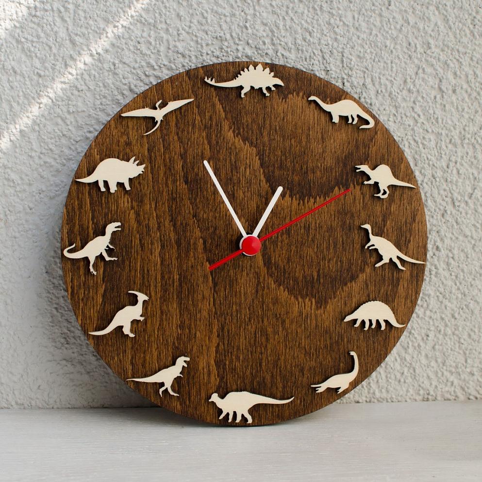 Dinosaurs Décor Ideas | Dinosaur Wall Clock