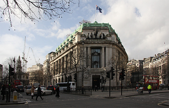 Harry Potter Filming Locations in London | Australia House