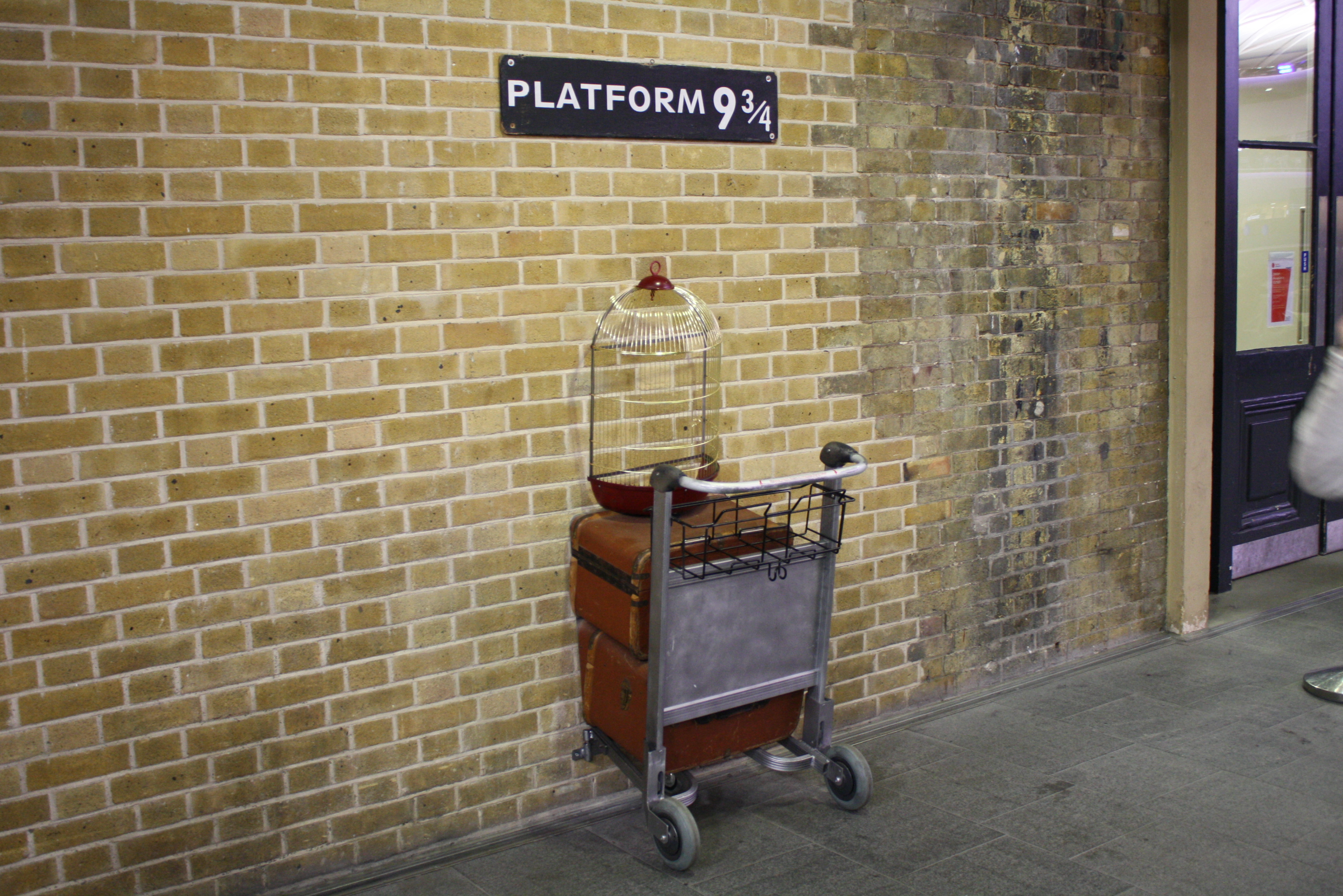 Harry Potter Filming Locations in London | King's Cross Station