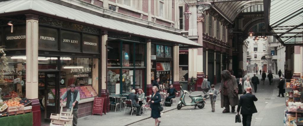 Harry Potter Filming Locations London | Leadenhall Market