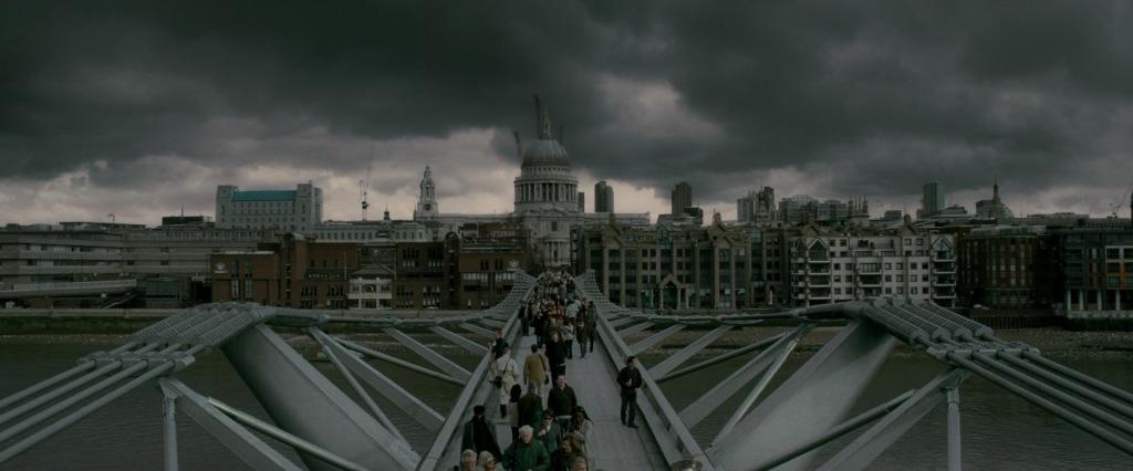 Harry Potter Filming Locations London | Millennium Bridge
