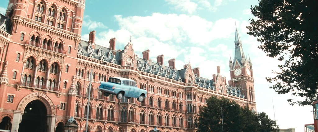 Harry Potter Filming Locations London | St Pancreas Station