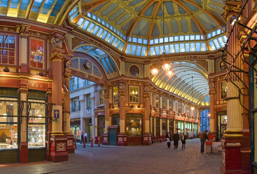 Harry Potter Filming Locations in London | Leadenhall Market