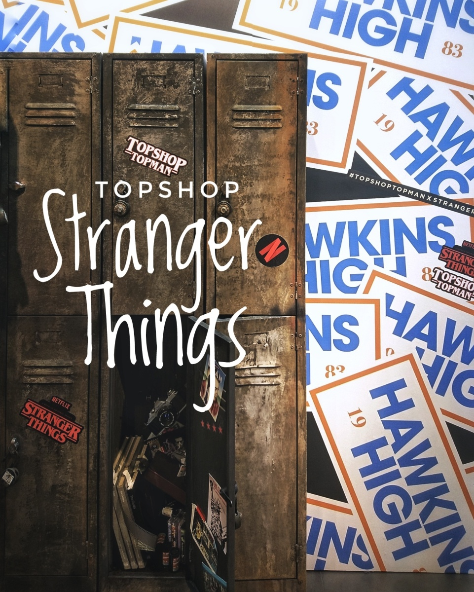 Stranger Things Pop-up at Topshop