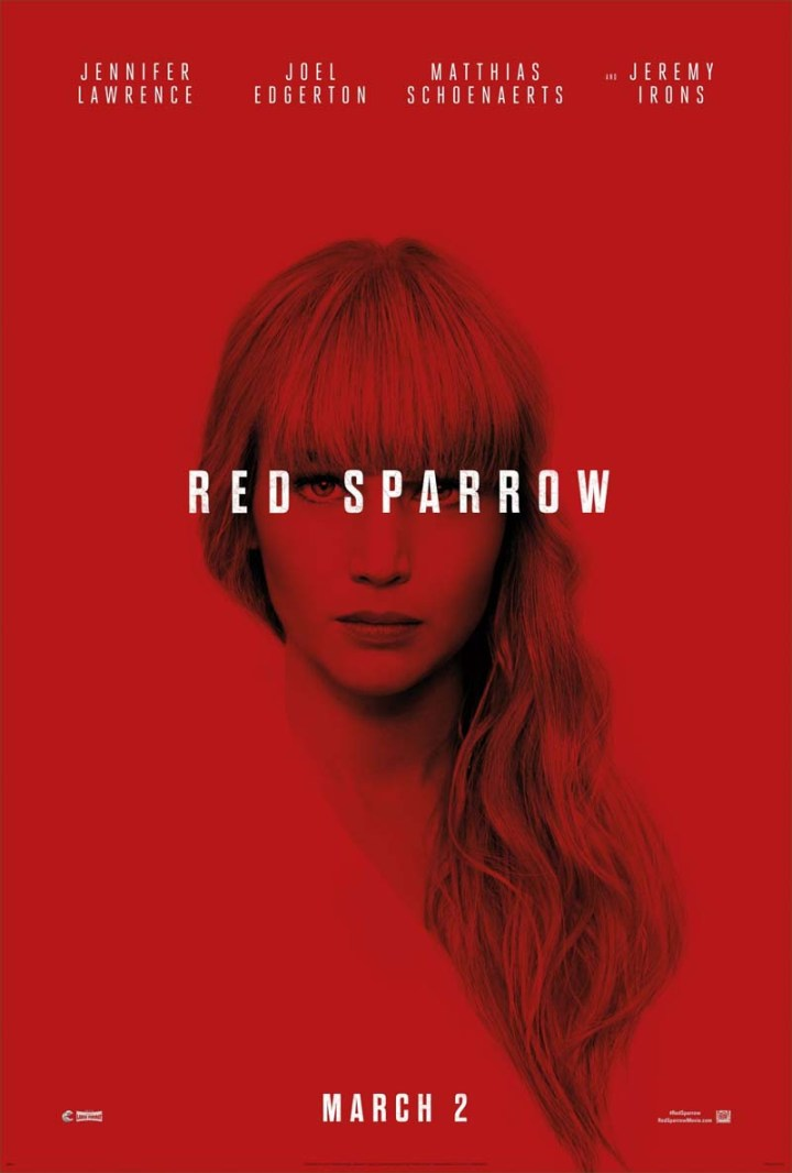 Movies 2018 - Red Sparrow