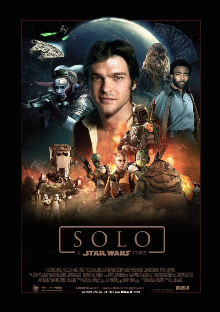 Movies 2018 - Solo A Star Wars Story