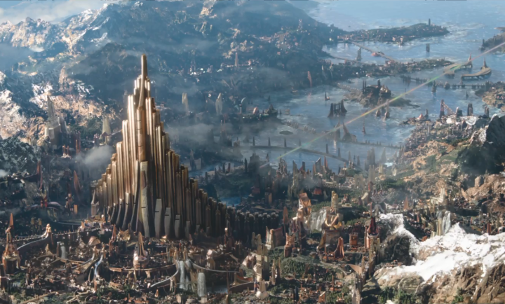 Five Fictional Cities I'd Love To Visit | Asgard (Thor)
