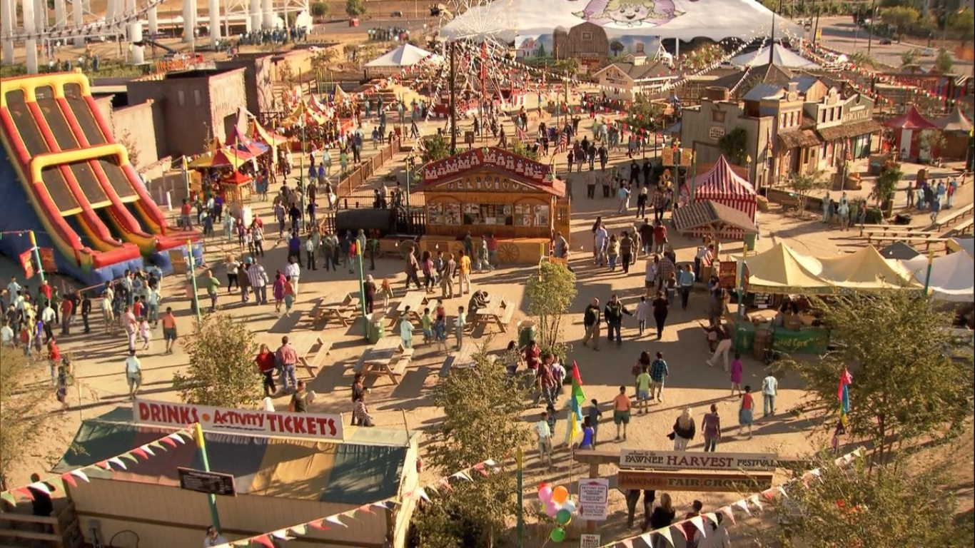 Five Fictional Cities I'd Love To Visit | Pawnee (Parks and Rec)