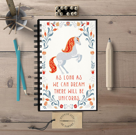 Fun Gifts for Unicorn Lovers - Unicorn Notebook