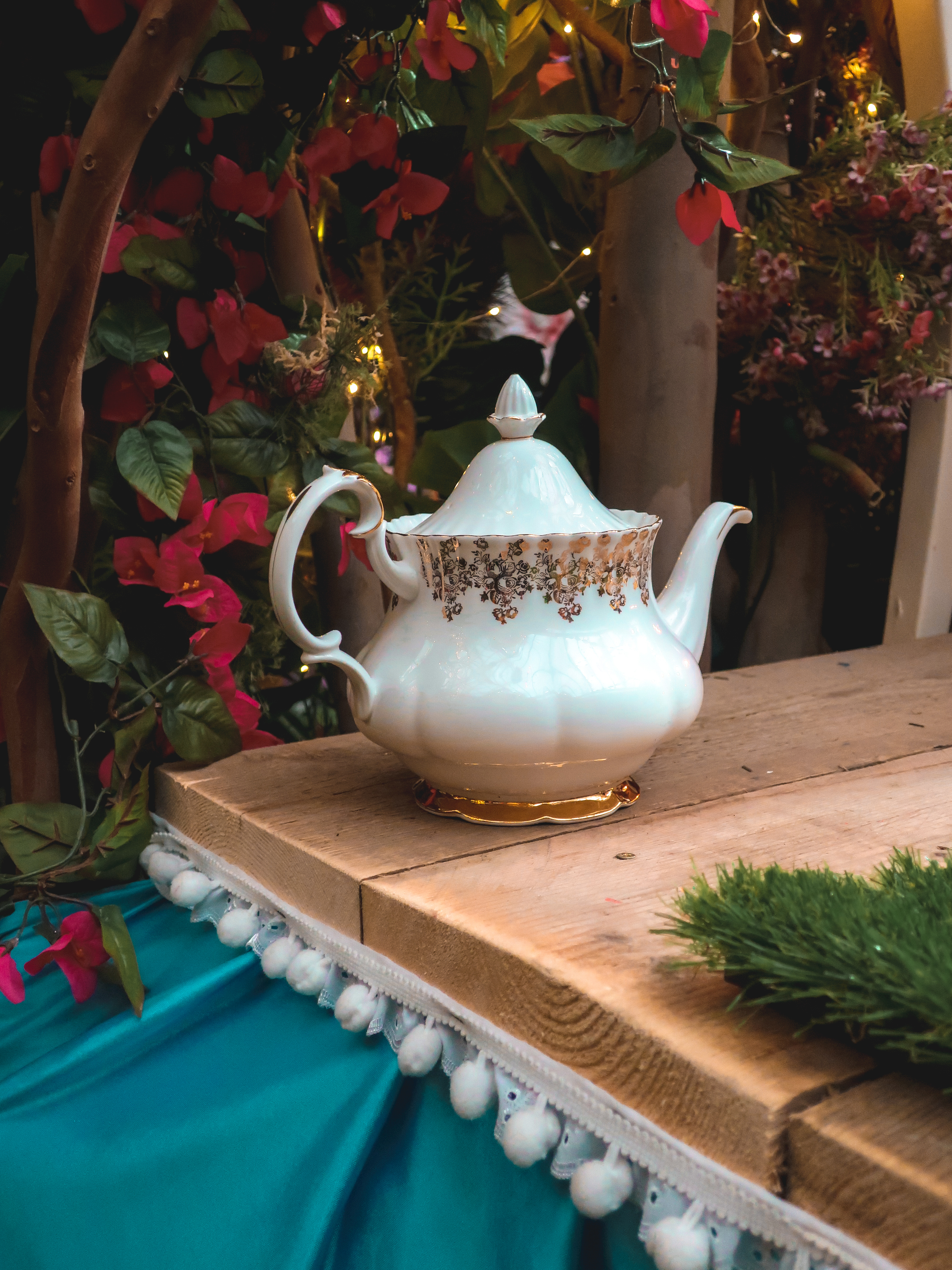 Mad Hatters Tea Party Garden Society