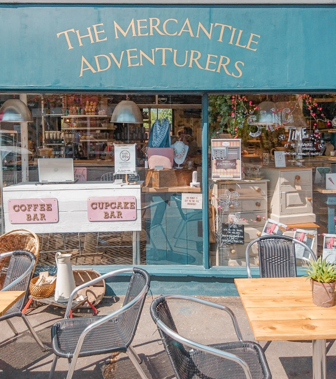 The Mercantile Adventurers | Shop Front