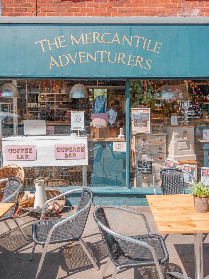The Mercantile Adventurers | Shop Front