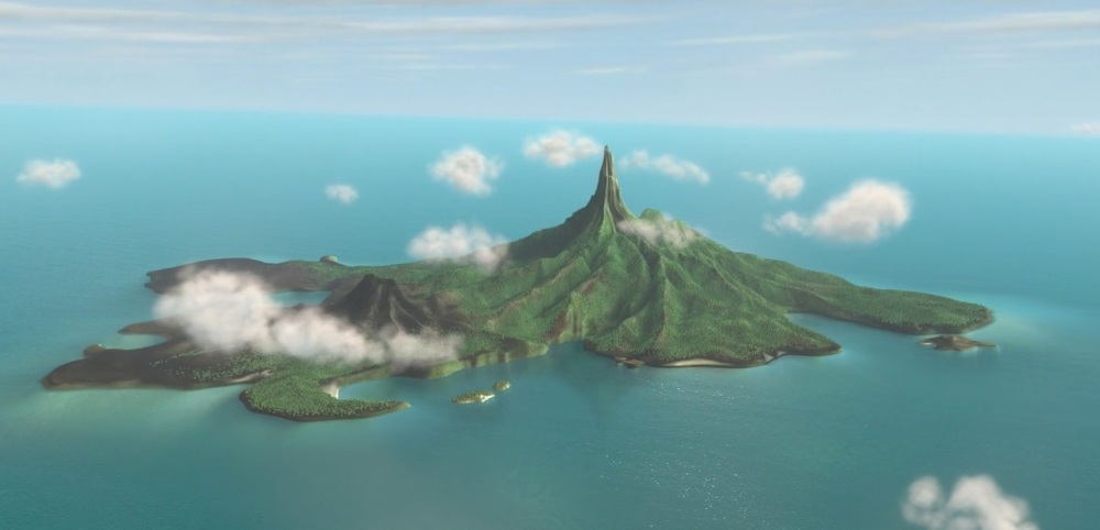 Five Fictional Islands | Nomanisan - The Incredibles