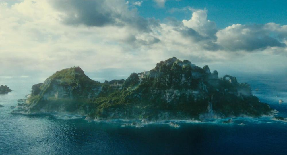 Five Fictional Islands | Themyscira - Wonder Woman