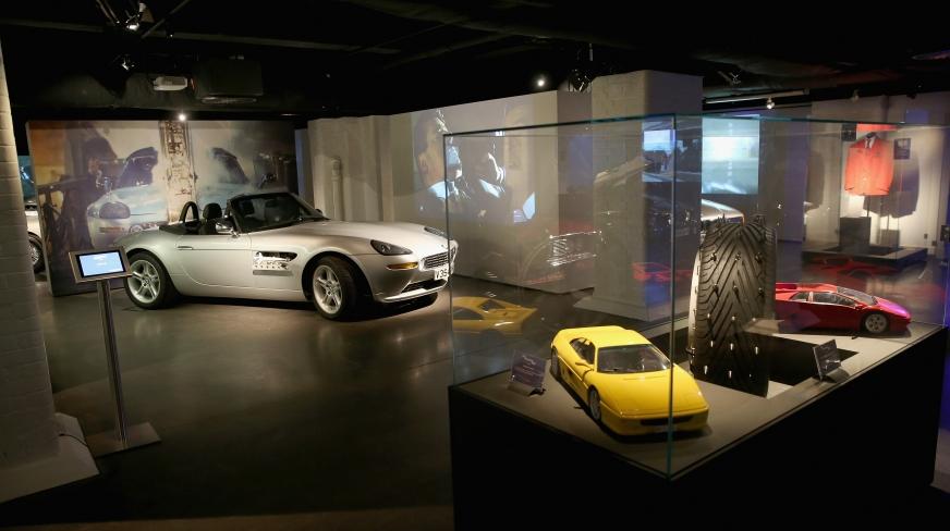 James Bond in London   Bond in Motion