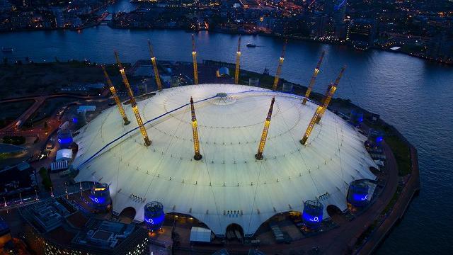 James Bond in London   O2 Arena