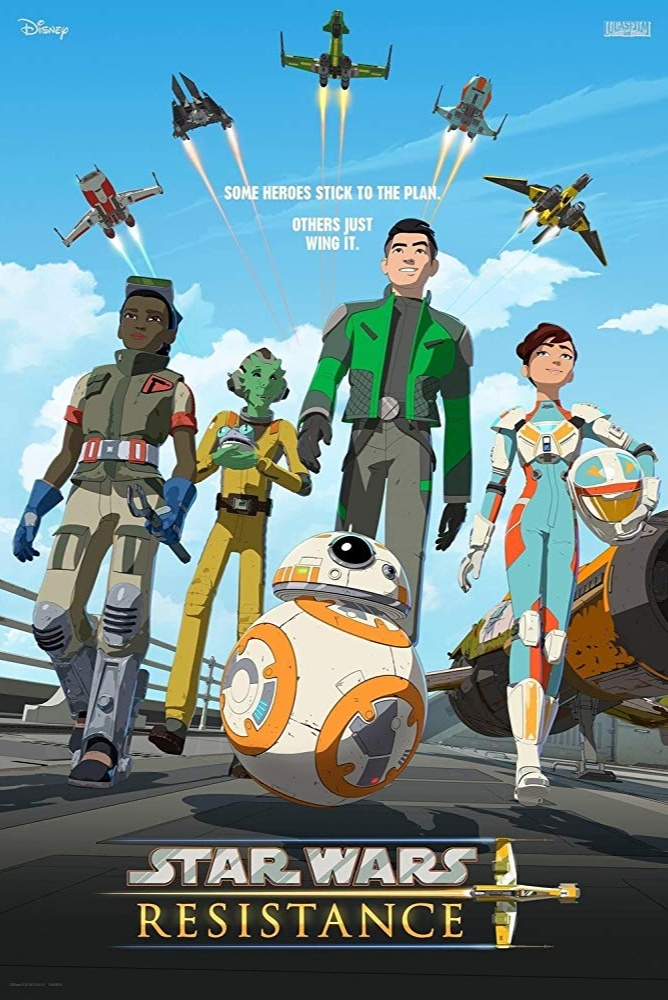 TV Shows October 2018 - Star Wars Resistance