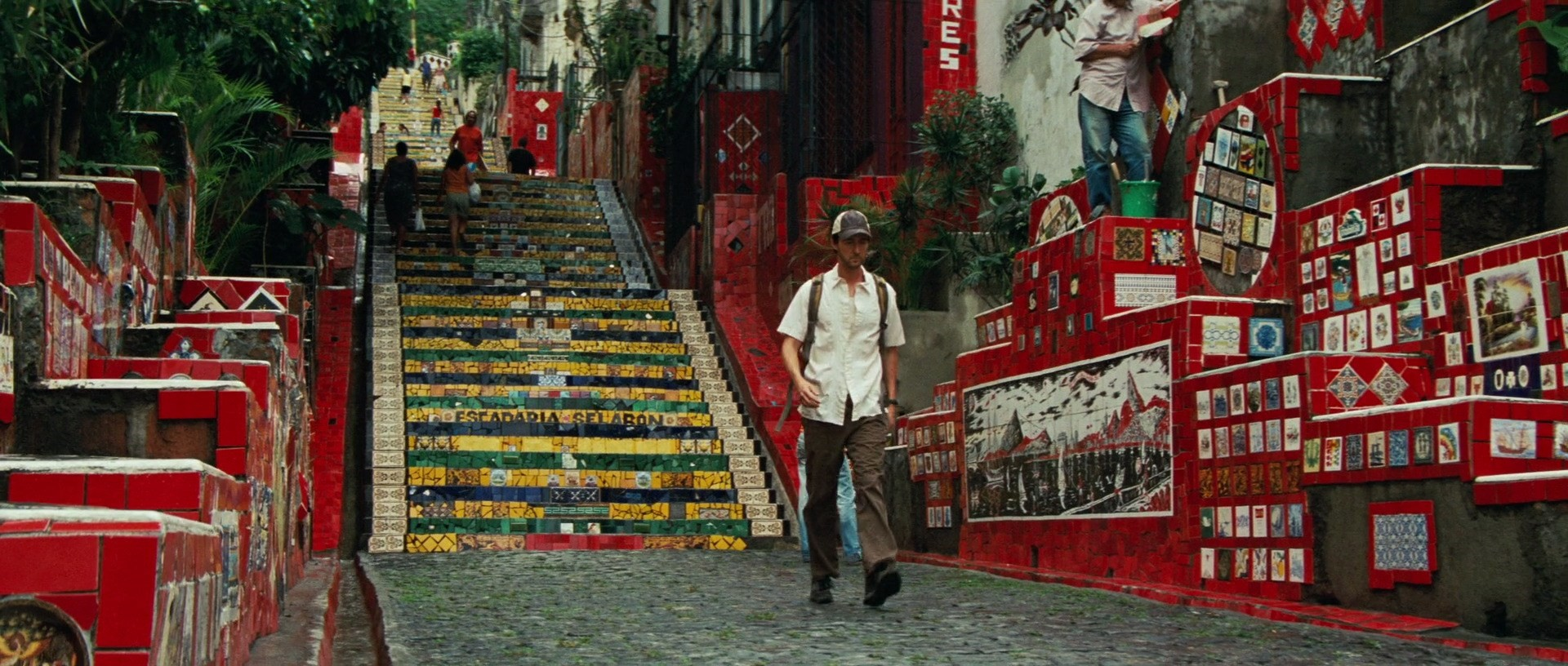The Incredible Hulk Filming Locations | Rocinha Favela steps