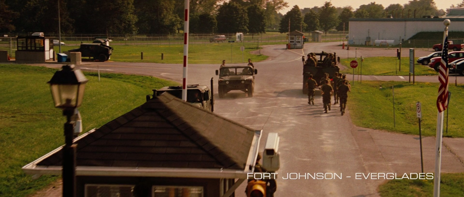 The Incredible Hulk Filming Locations | Fort Johnson