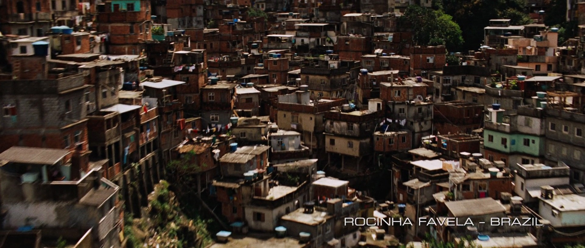 The Incredible Hulk Filming Locations | Rocinha Favela, Brazil