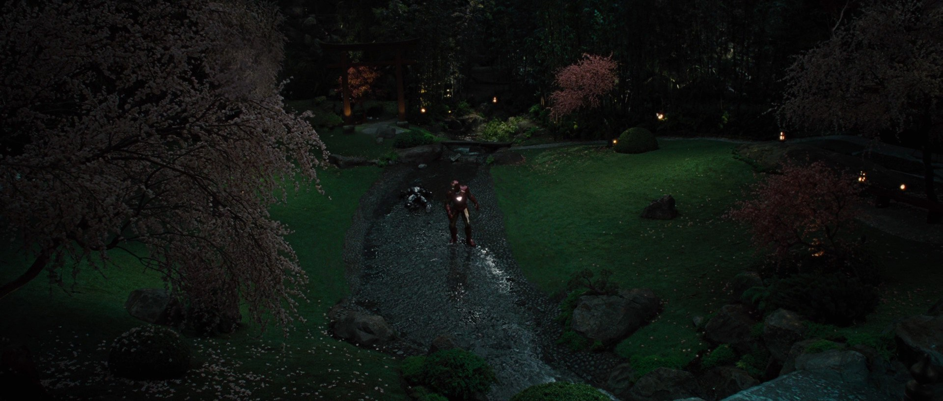 Iron Man 2 Filming Locations | Japanese Gardens