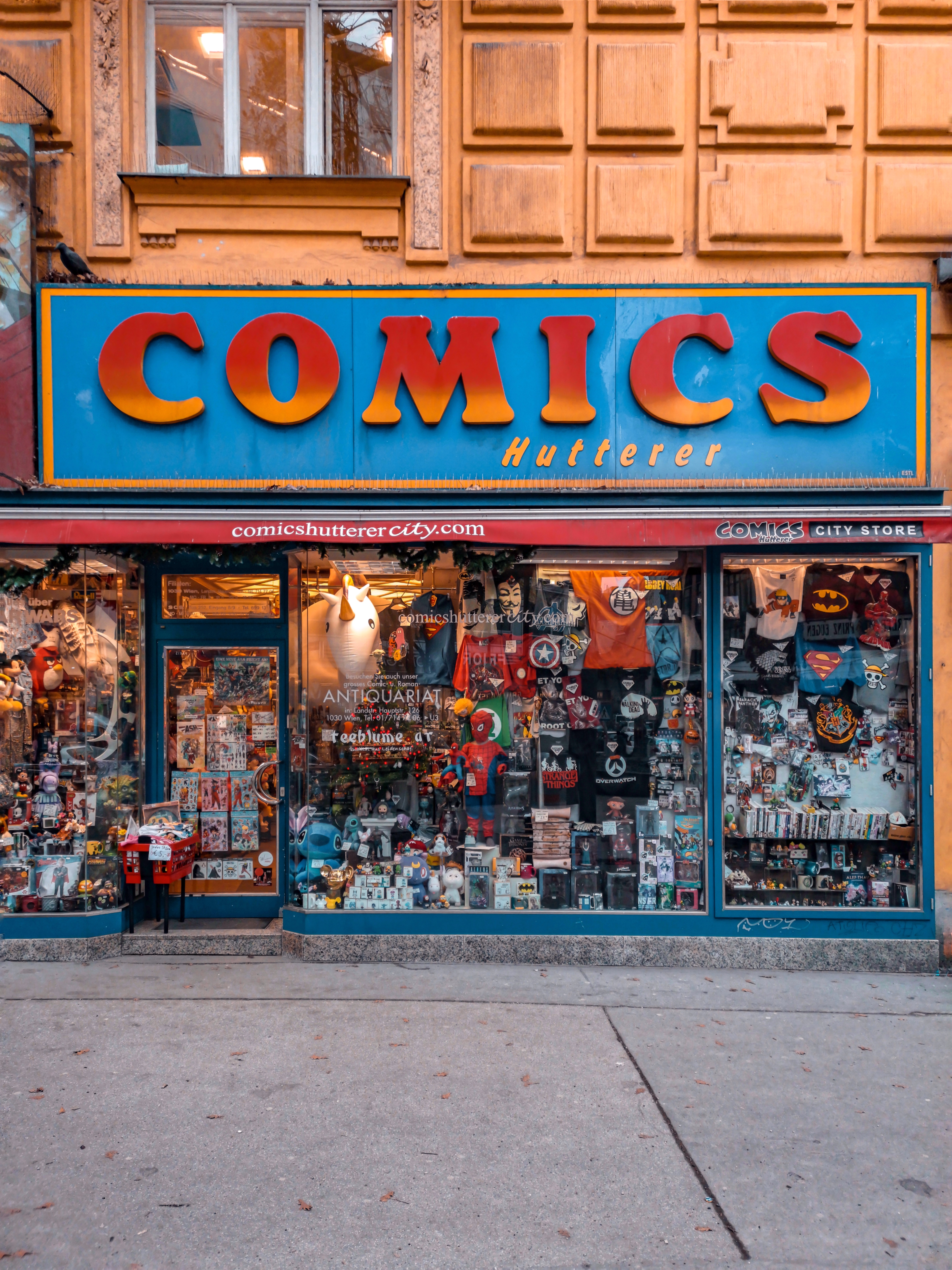 A Geeks Guide to Vienna | Comics Hutterer