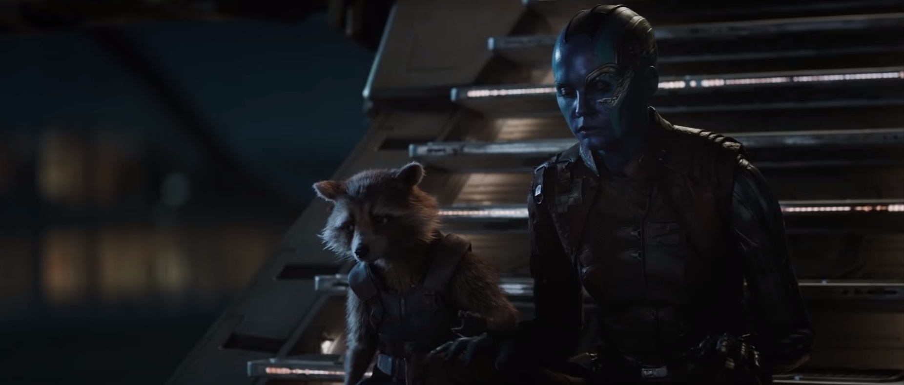 Avengers: Endgame Trailer Breakdown | Rocket and Nebula
