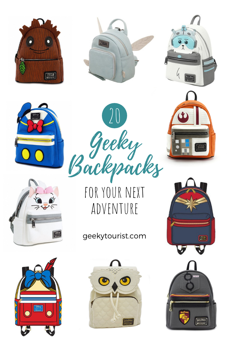 Geeky Backpacks