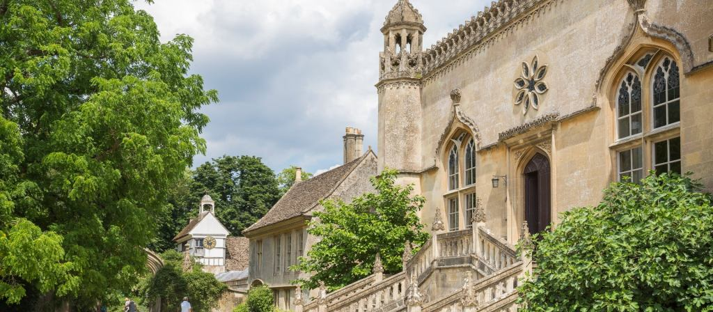 Movie Locations with the National Trust | Lacock Abbey