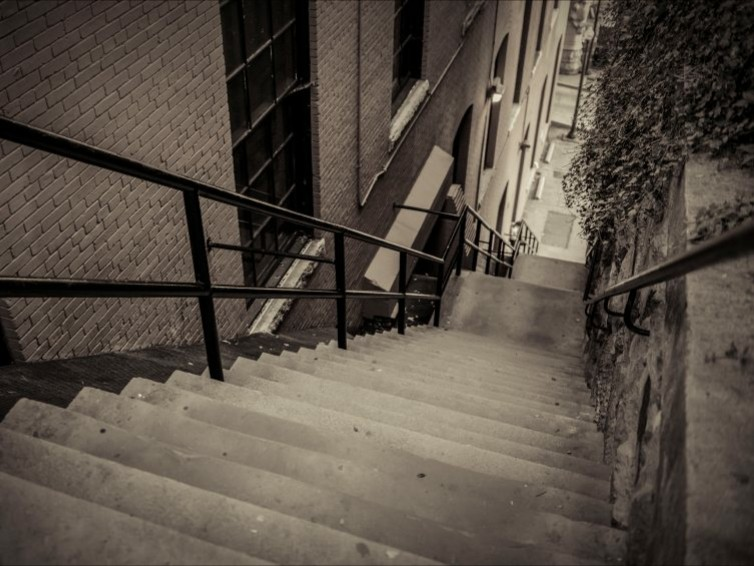Horror Movie Filming Locations | Exorcist Steps - The Exorcist