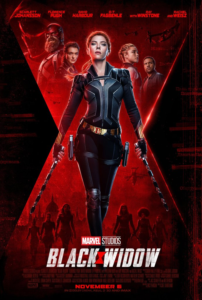 Most Anticipated Movies of 2021 | Black Widow