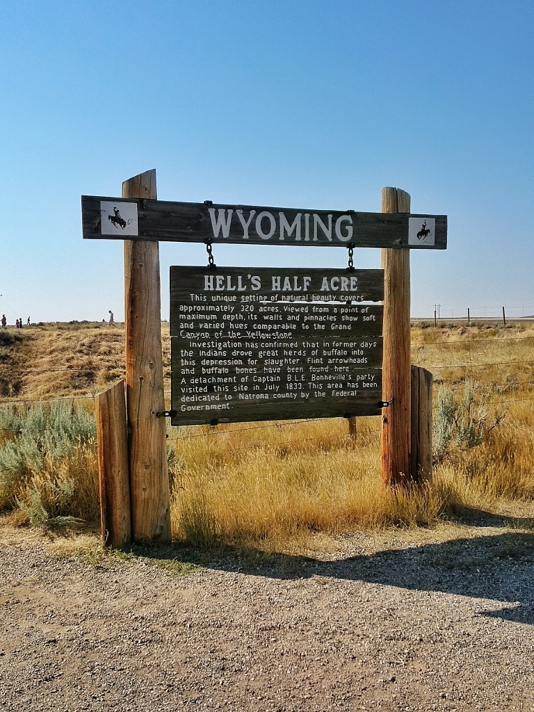 A Geeks Guide to Wyoming | Hells Half Acre