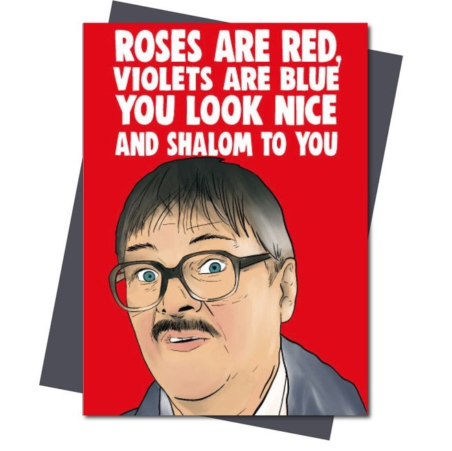 Geeky Valentines Day Cards | Friday Night Dinner - Jim