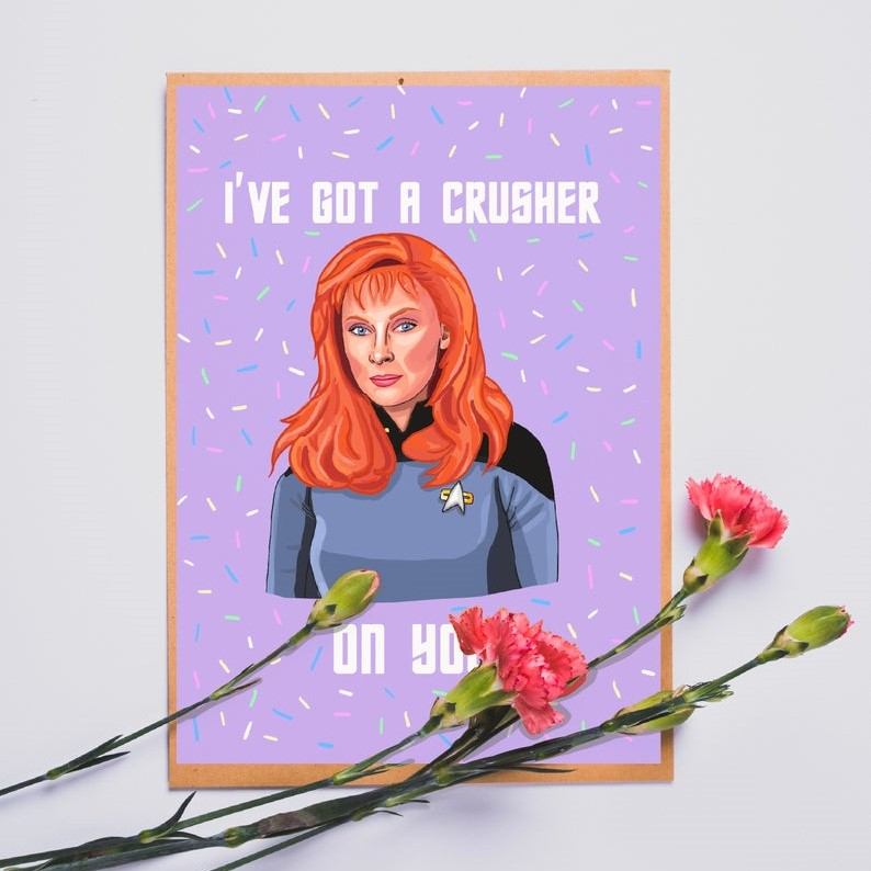 Geeky Valentines Day Cards | Star Trek