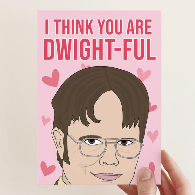 Geeky Valentines Day Cards | The Office - Dwight Schrute