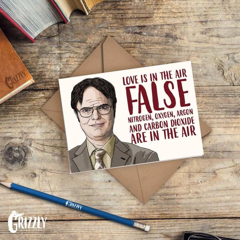 Geeky Valentines Day Cards | The Office - Dwight