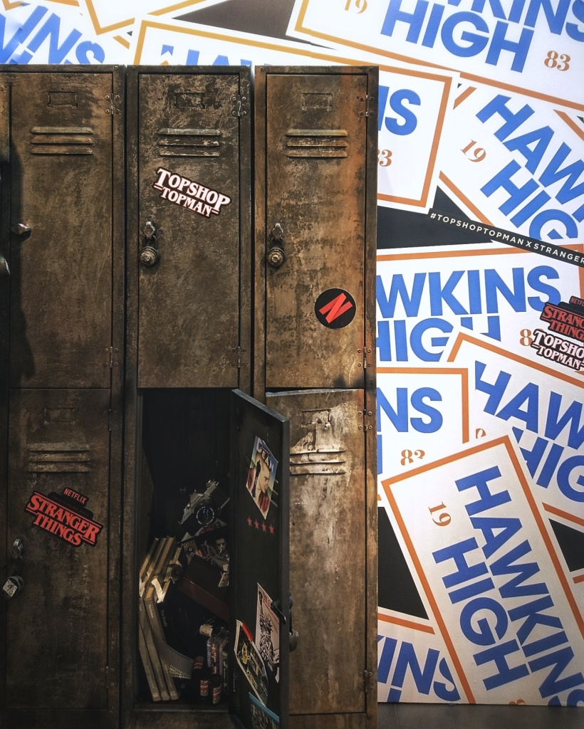 Stranger Things Pop Up at Topshop | Lockers