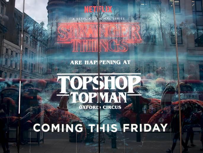 Stranger Things to do in London | Stranger Things Topshop